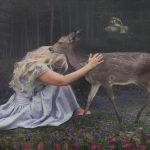 The Woods Welcome – 10.9″ x 25″ limited edition print