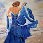 Dancing at beach