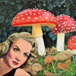 Surreal mushroom
