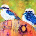 Kookaburra buddies