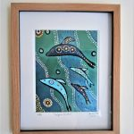 "Authentic Aboriginal ""Dolphin Children"" Limited Edition Print"
