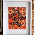 Dragonfly over Desert Hea Ltd Ed Print