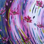 Dance of the Pinwheel Daisies