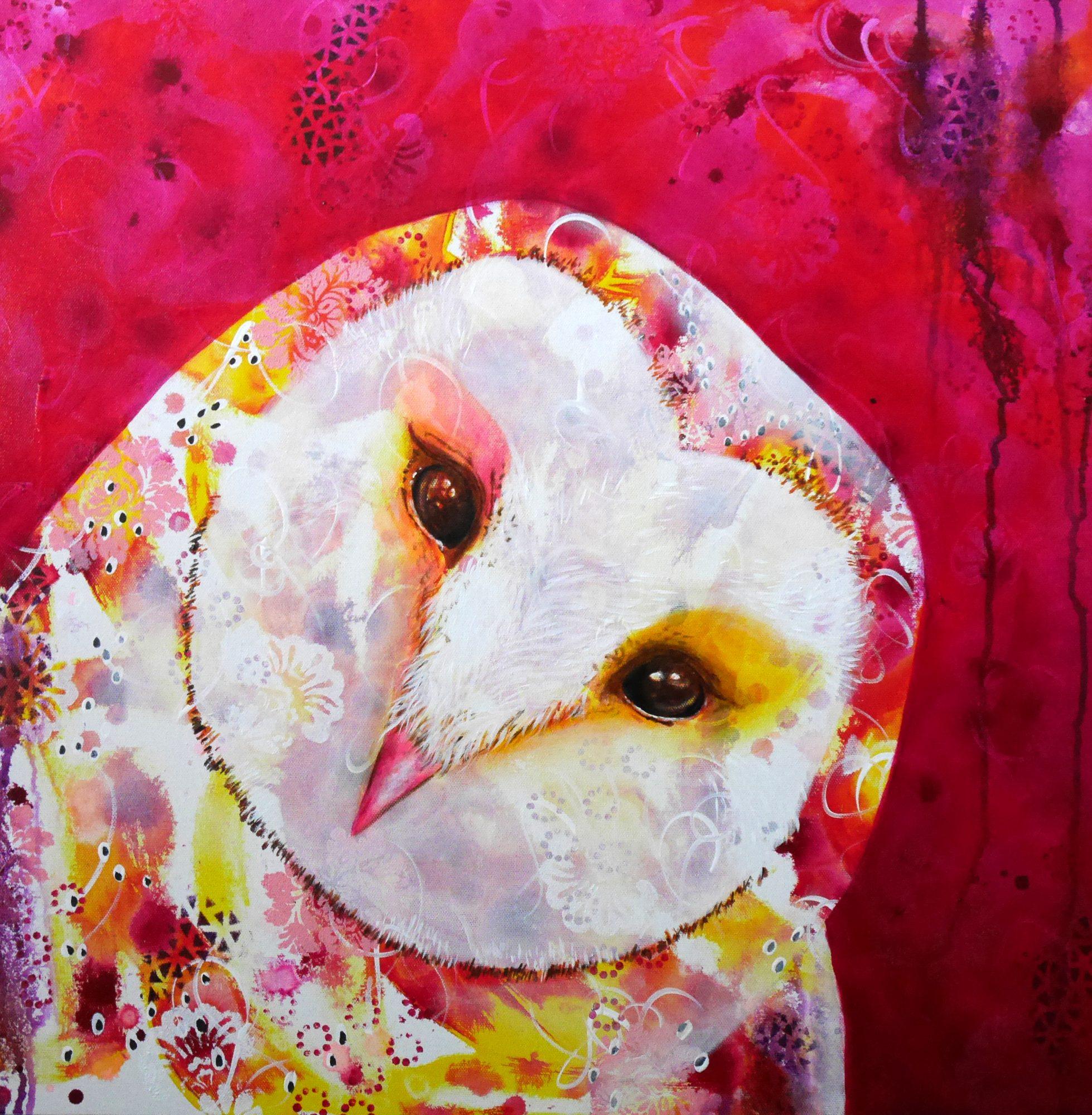 owl-selfie-michelle-gilks