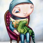 Lizard Boy (A2 Limited Edition Print)