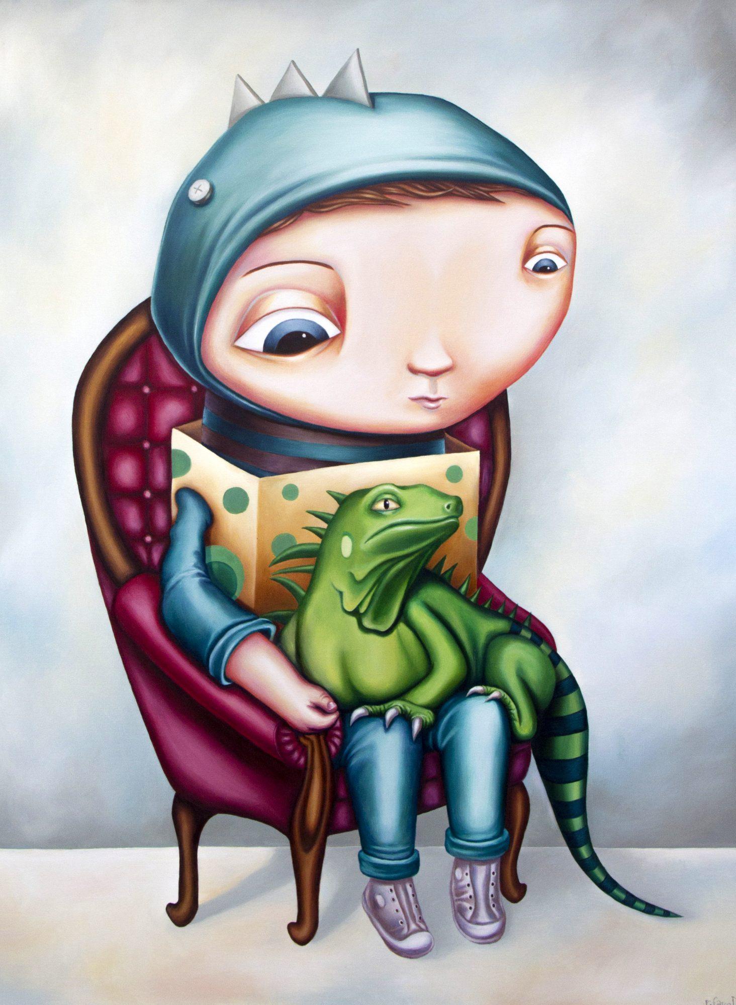 lizard-boy