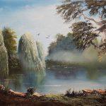 Quiet Tranquil Lagoon