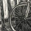 Bike Lino Cut Detail 1