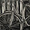 Bike Lino Cut Detail 2