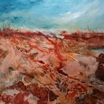 In the Desert I can Remember my Name (Abstract Australian landscape)
