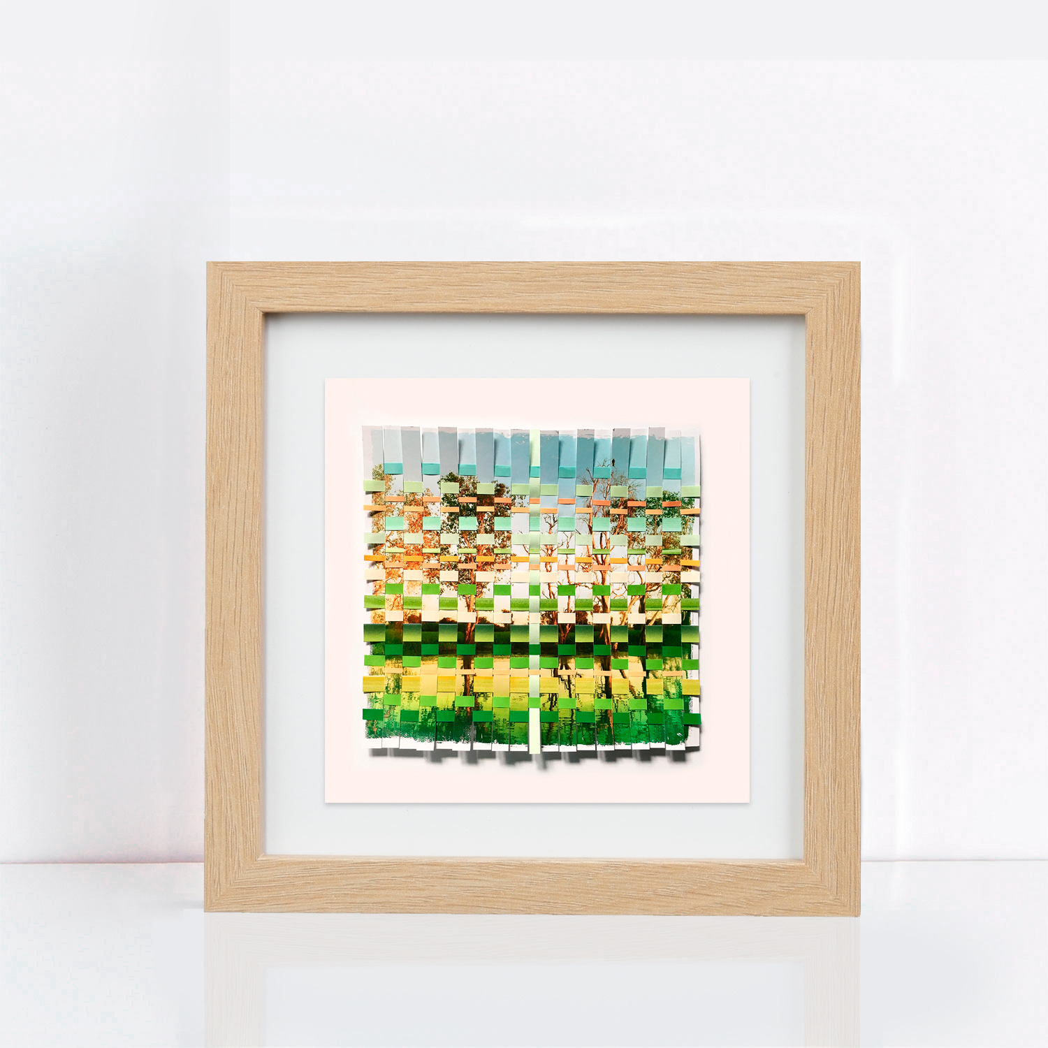 fineart-green-and-gold-framed