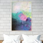 If I Could Be Somebody Else – abstract painting