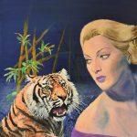 Tigress – Tiger surreal painting