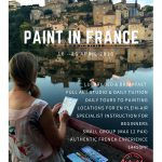 Artable 10 Day Paint in France – Painting Holiday