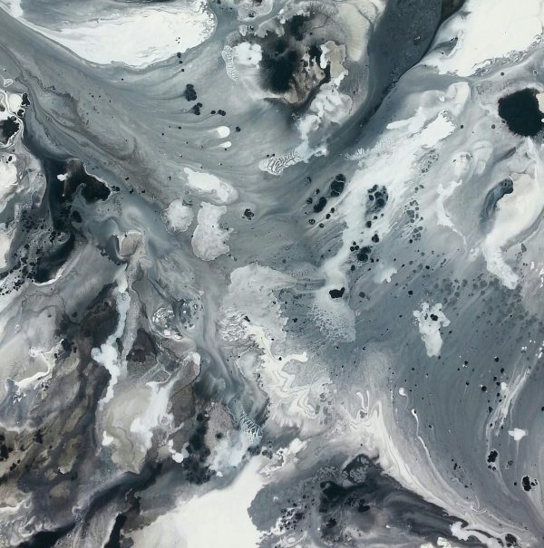 Seascape In Shades Of Grey Fv