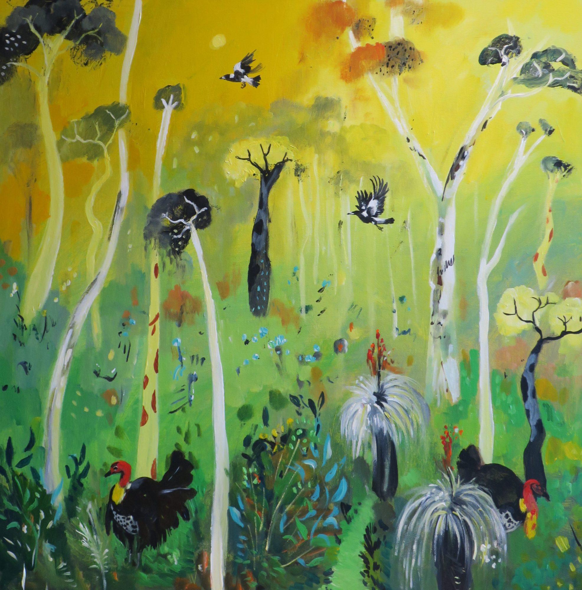 bush-turkeys-on-yellow