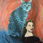'Interloper' – Cat Painting