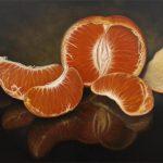 Still life of Mandarin