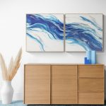 FLOWING WATER (Diptych)