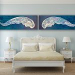 Take Flight – pair of angel wings – original acrylic paintings