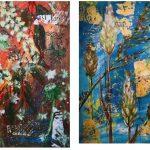 SEASON'S ADVENTURE- 2 original artworks set- Framed, Ready to hang