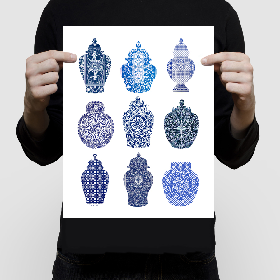 fineart-playingcard-ginger-jars-11×14
