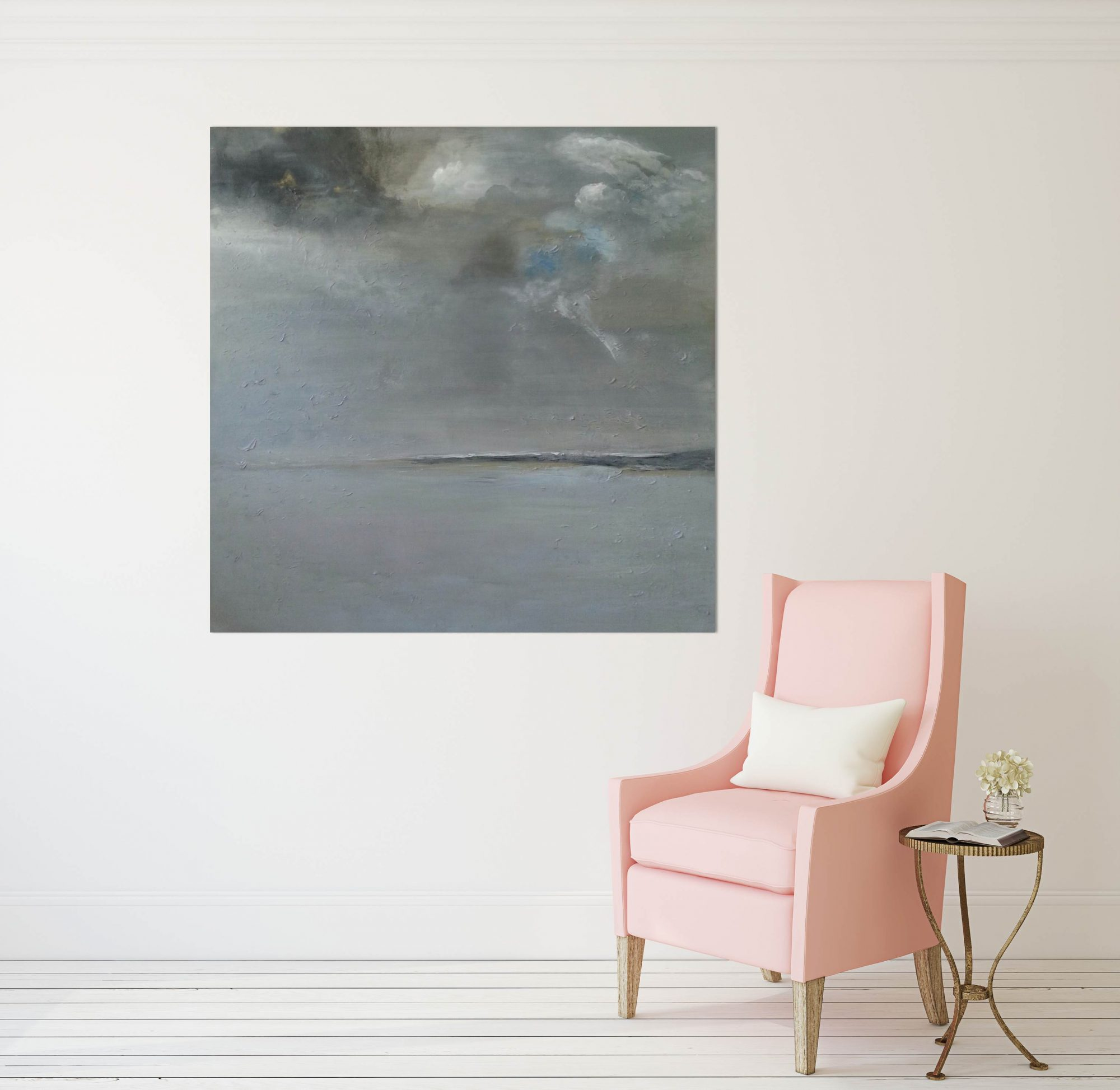 stormy-bay-with-pink-chair