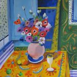 Anemones – a tribute to Matisse