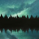 Night Sky Reflections