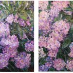 Blessedness – HYDRANGEA – 2 artworks set