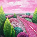 Pink skies (SOLD)