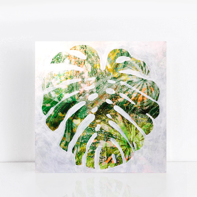 Fineart Patterned Leaf 1f