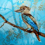 Feathery All-sorts No 1 – Blue Winged Kookaburra