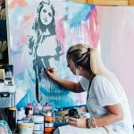 BOLD – Spray and Stencil Workshop with Sarah Sculley