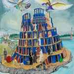 Ltd Ed Babel Tower Print
