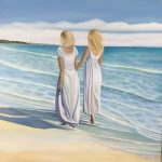 Sisters on Beach Walk
