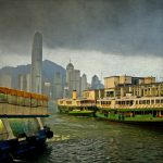 Ltd Ed Giclee Print – STORM OVER HONG KONG