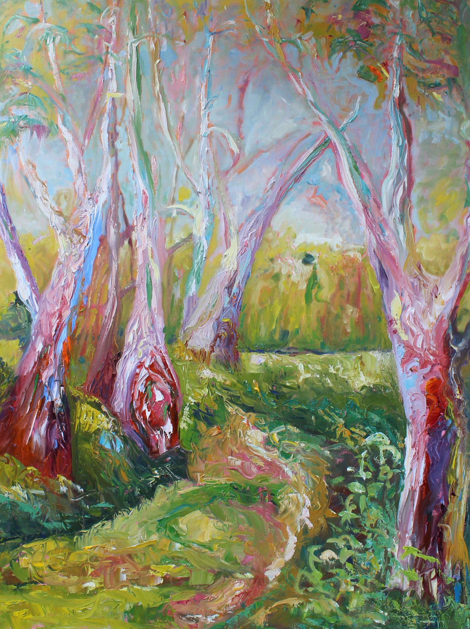 very-very-colourful-gum-76×1016-il-and-acrylic-on-stretched-canvas-675-trees-76×106-copy