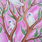 Corella's In The Trees