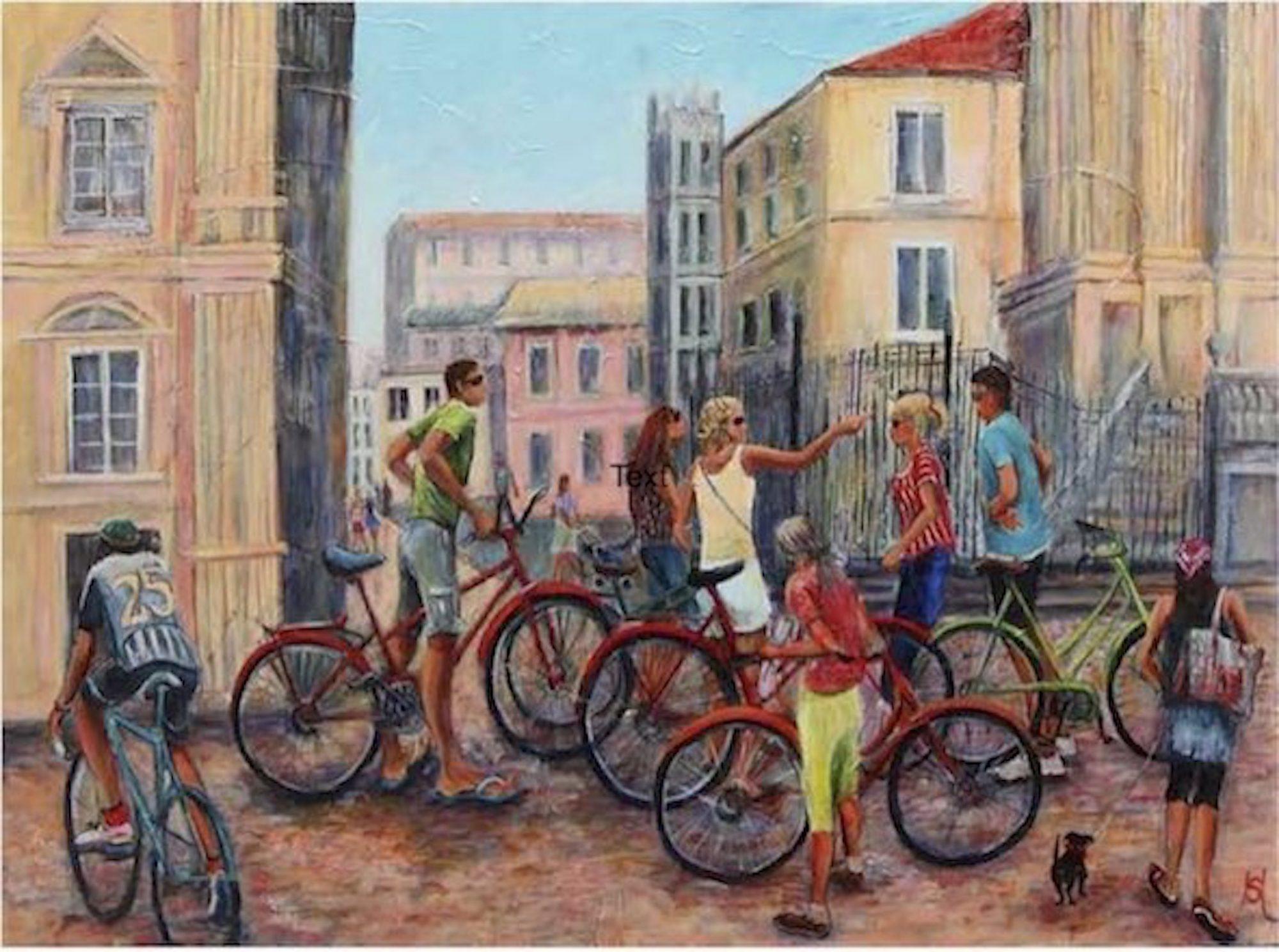 cyclists-in-malaga