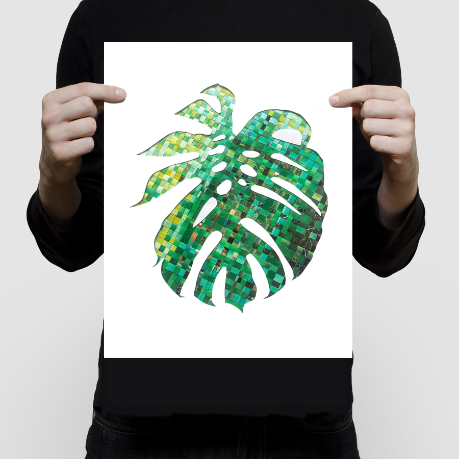 FINEART-monstera-leaf-print-11×14