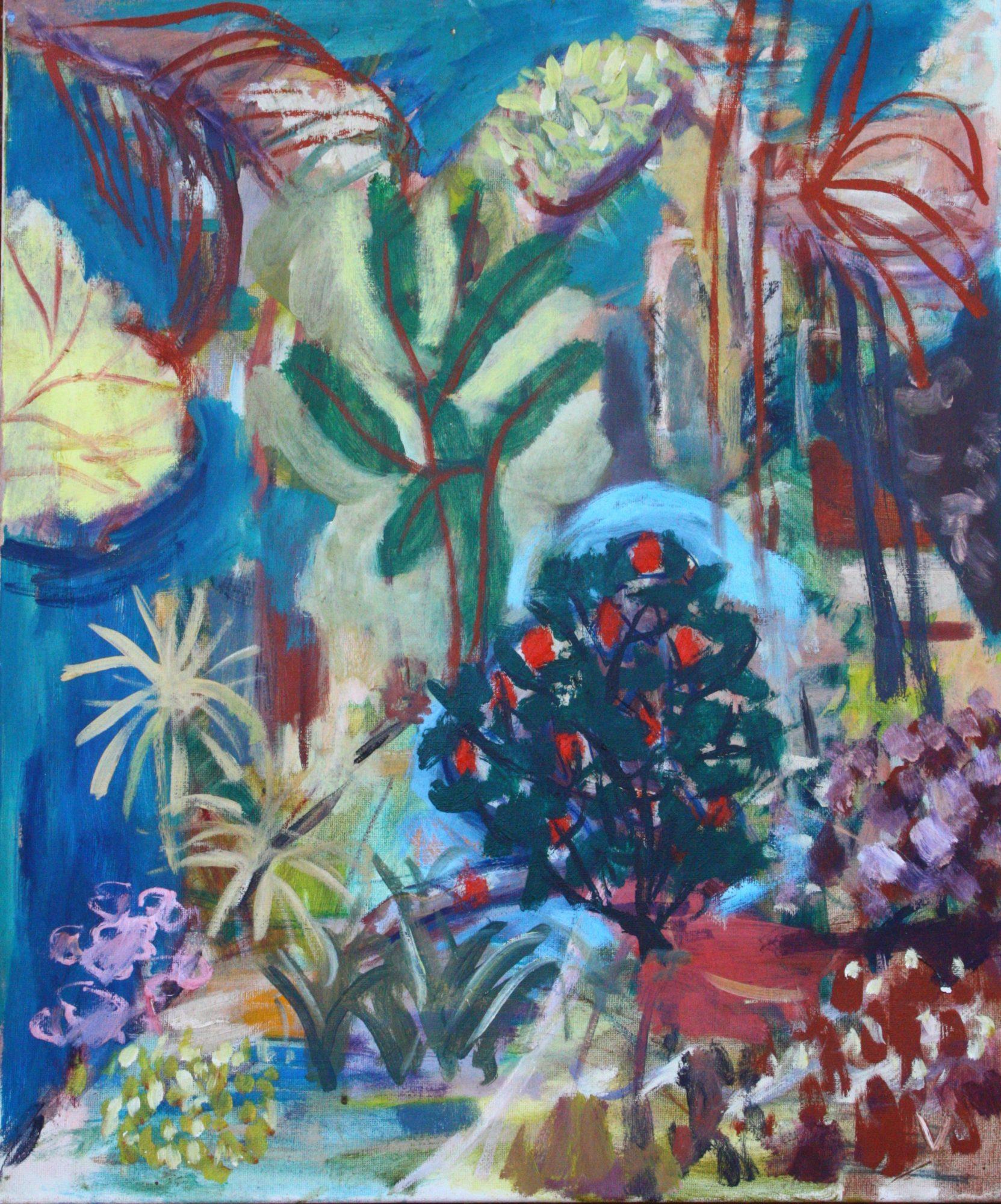 Garden Of Eden Landscape: Art Lovers Australia