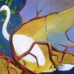 Tidal Flow – Great White Egret in the Mangroves