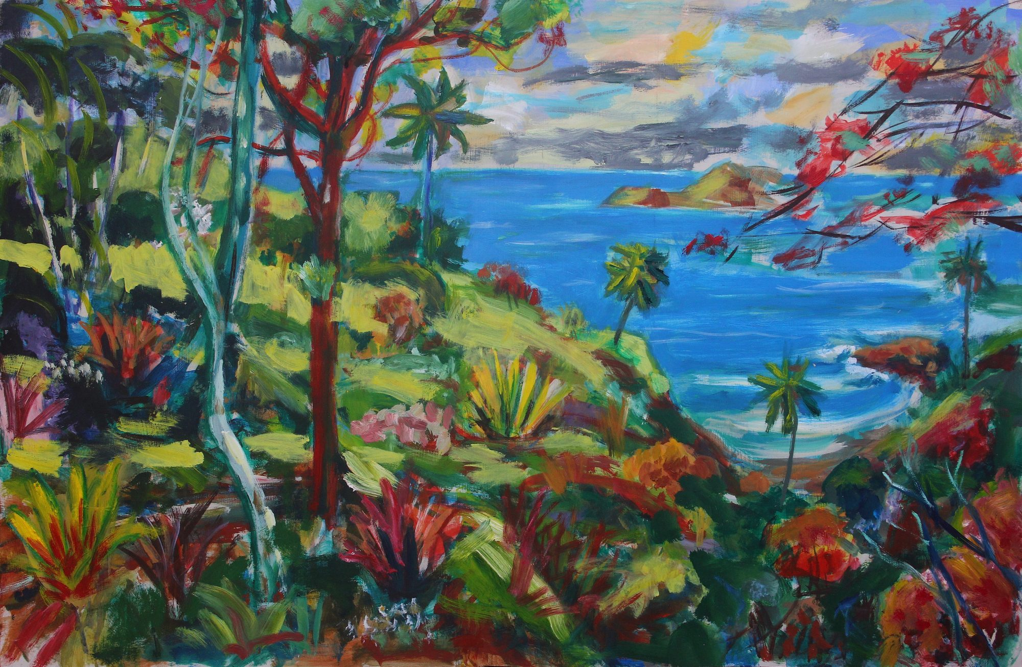Tropical Autumn 90 x 60 cm