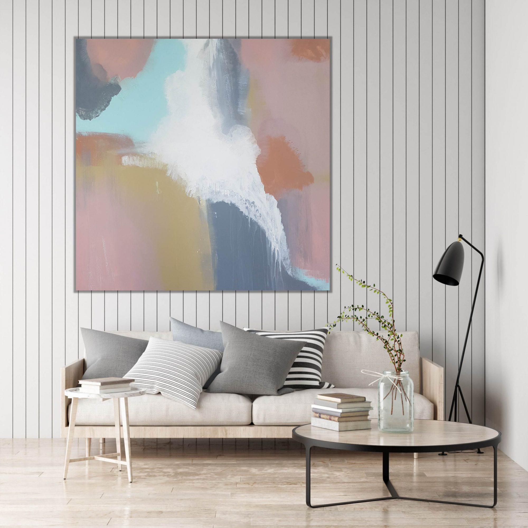 Where You'll Find Opals light panel wall