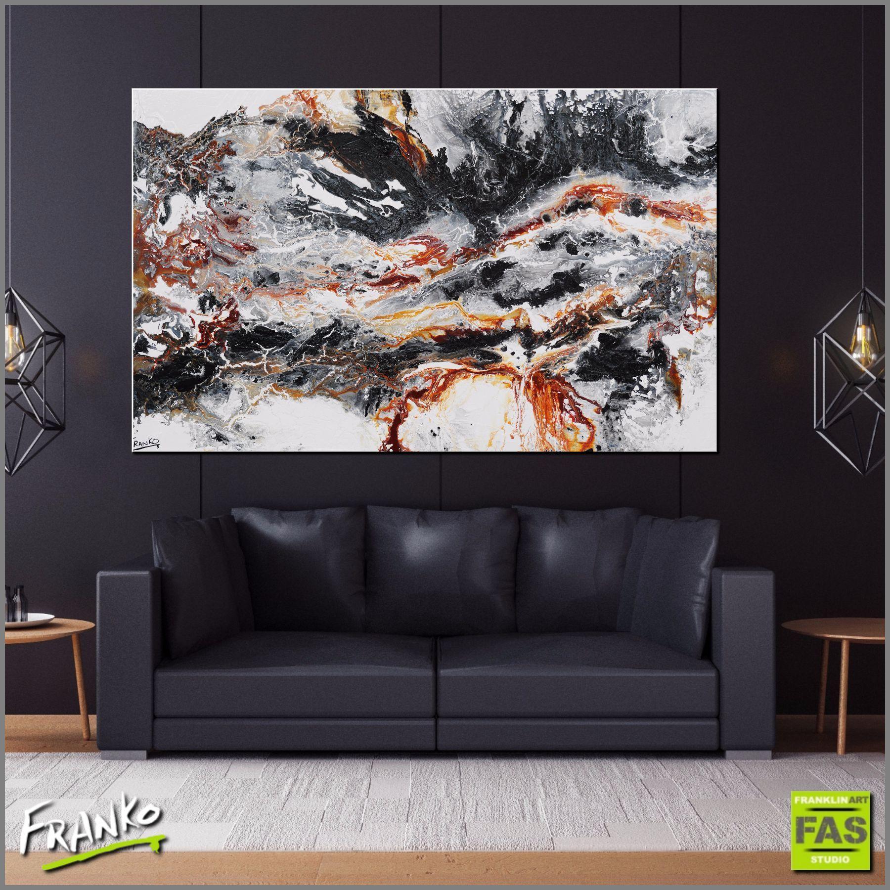 abstract huge rust black white minimalist franko (1)
