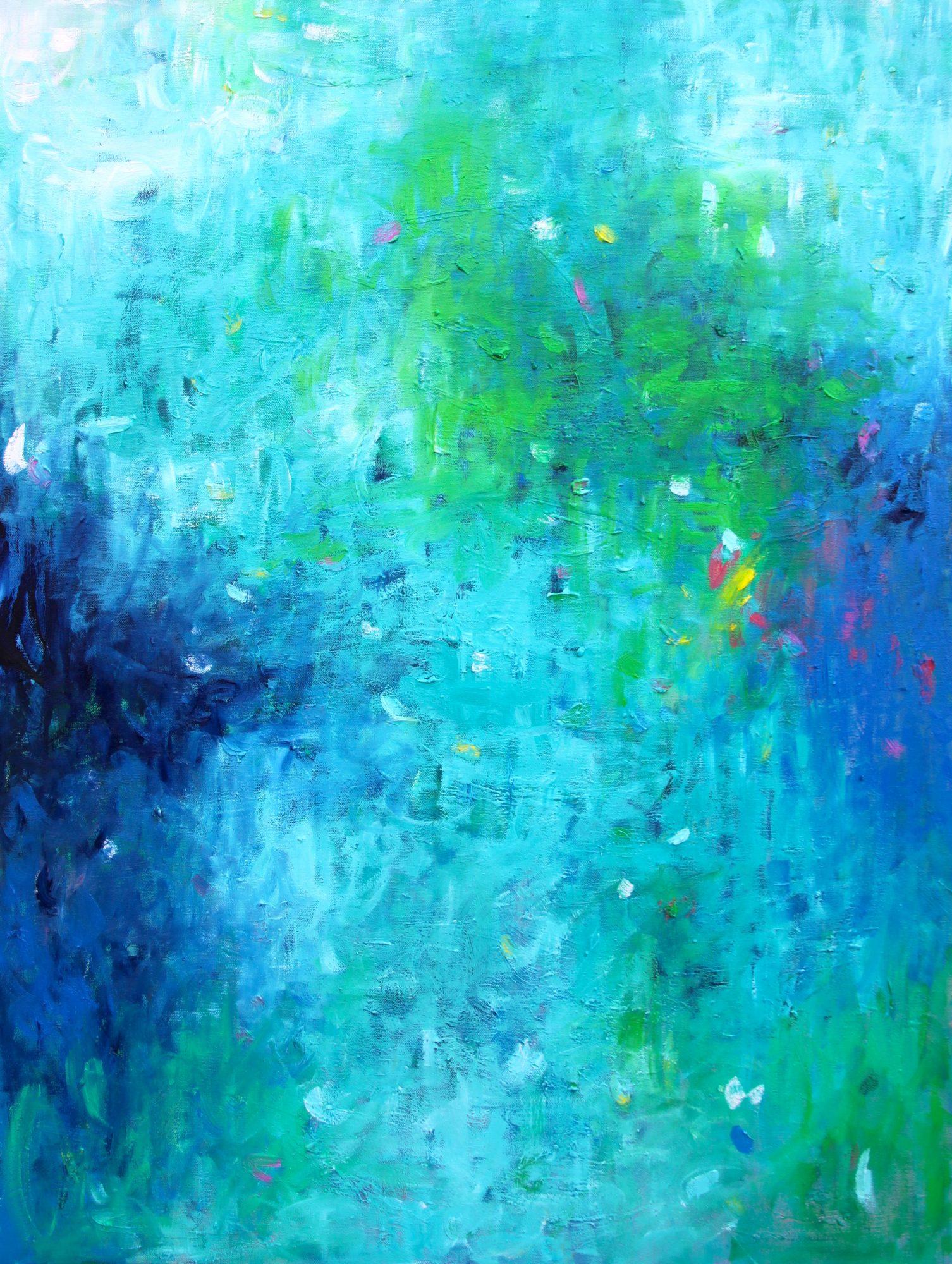 belinda-nadwie-art-sydney-artist-abstract Morning Mist