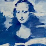 Mona In Blue
