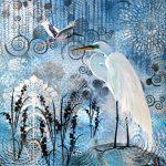 Sheer Elegance – Great Egret and Jabiru
