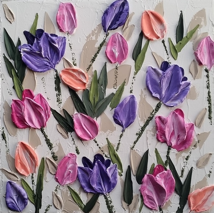 Tulips on Parade – close crop